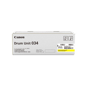 Canon CART034YD Yellow Drum Cartridge to suit MF810CDN (Yield, 34,000 pages)