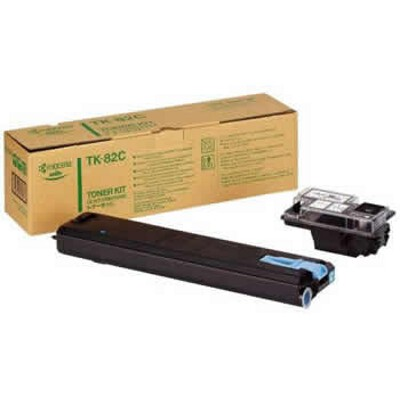 Kyocera TK-82C Cyan Toner Cartridge