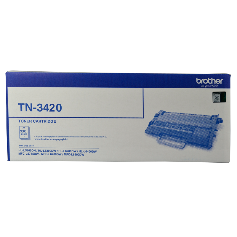 Brother TN-3420 Toner Cartridge, 3000 Yield