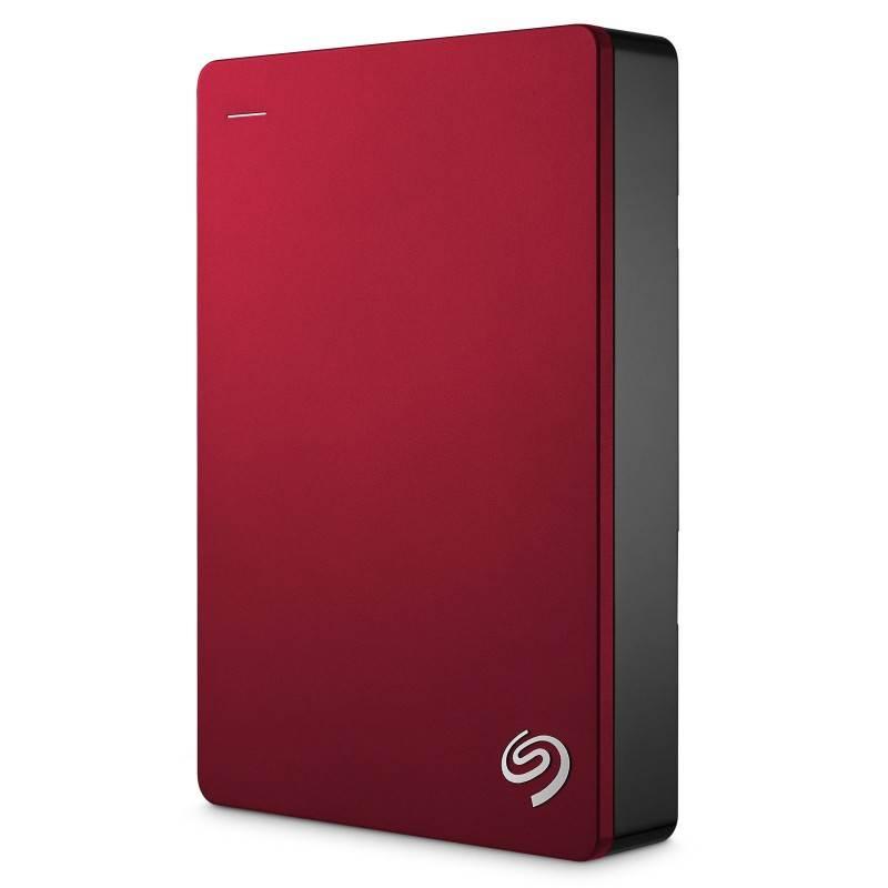 Seagate STDR4000303 4TB 2.5 Inch Plus Portable External Hard Drive - RED