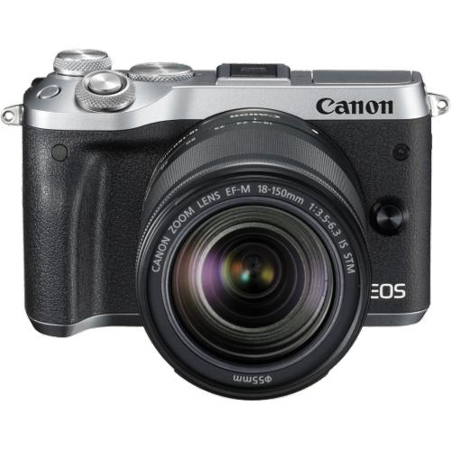 Canon M6SKS EOS M6 Super Kit w/EF-M18-150ST -  Silver