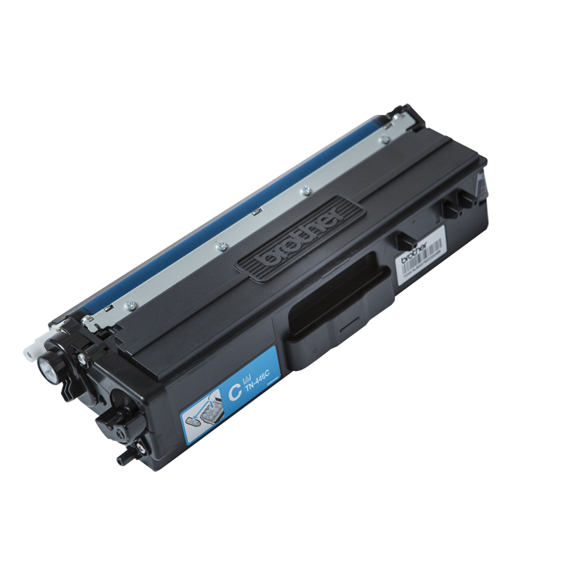 Brother TN-446C Super High Yield Cyan Toner, 6500 Pages