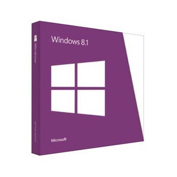 Microsoft WN7-00580 Windows 8.1 32/64 Bit, 1 Pack, Retail