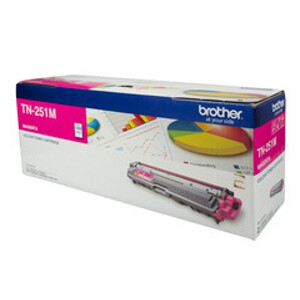 Brother TN-251M Magenta Toner Cartridge (1,400 Pages)