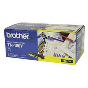 Brother TN-150Y Yellow Toner Cartridge (1500 Yield)