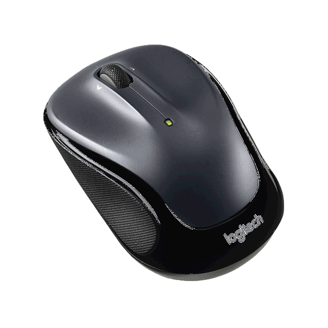 Logitech 910-002151 M325 Wireless Mouse  - Dark Silver