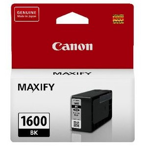Canon PGI1600BK Black Ink Tank (Yield, up to 400 pages)