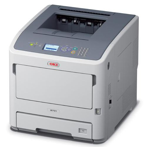 OKI B731DN 52ppm A4 Mono Printer with Duplex and Network