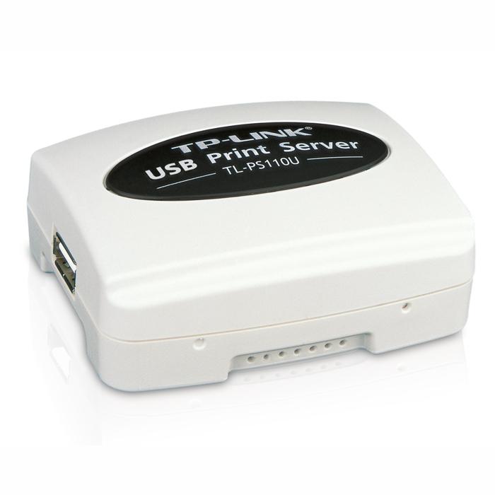 TP-Link TL-PS110U Single USB2.0 Port 10/100 Print Server