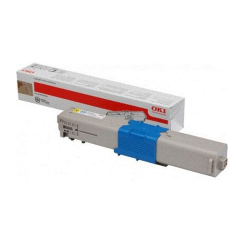 OKI 44973547 Cyan Toner Cartridge For C301/321; 1500 Pages