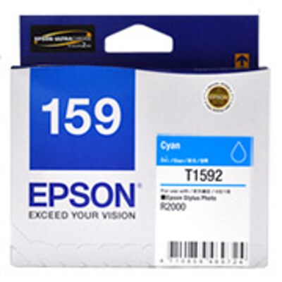 Epson C13T159290 Cyan ink cartridge for Stylus Photo R2000