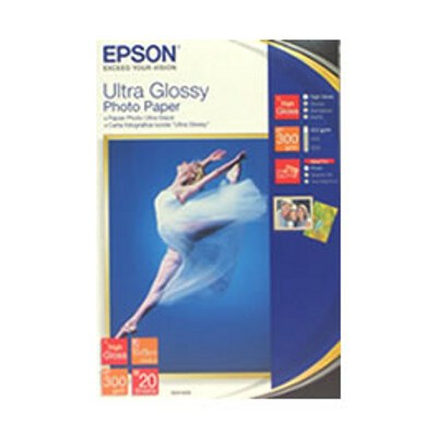 Epson C13S041943 Ultra Glossy Photo Paper - 4 Inchx6 Inch  50 Sheets