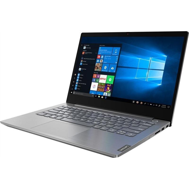 Lenovo ThinkBook 14, Core i7-10510U 1.8/4.9Ghz, 8GB, 256GB SSD, 14 Inch FHD, Win 10 Pro 64