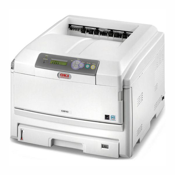 OKI C810N Colour A3 GDI LED Printer with 10/100 Network