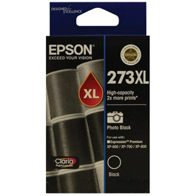 Epson C13T275192 High Capacity Claria Premium Photo Black ink (Yields up to 500 pages)