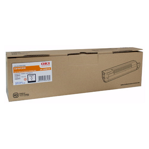 OKI Black Toner Cartridge for C810/830N (8,000 Pages)