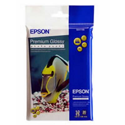 Epson Premium Glossy Photo Paper 4x6 20 Sheet
