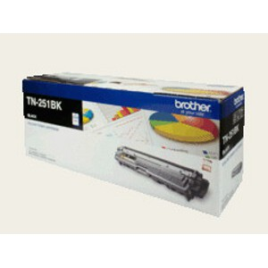 Brother TN-251BK Black Toner Cartridge (2,500 Pages)