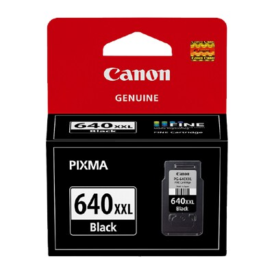 Canon PG640XXL Black Extra High Yield Cartridge (Yield, up to 600 pages)