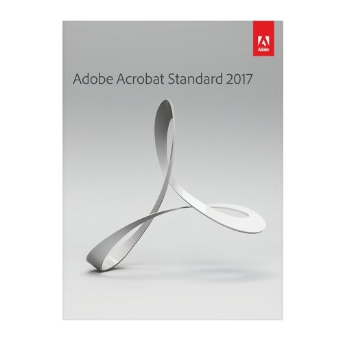 Adobe 65280596 Acrobat Standard 2017 Retail, Windows