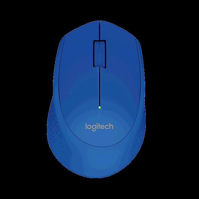 Logitech 910-004297 M280 Wireless Mouse, Blue