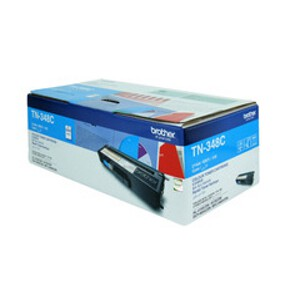 Brother TN-348C Cyan Toner Cartridge (6,000 Yield @ 5%)