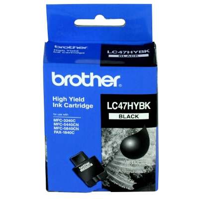 Brother LC-47 Black High Yield Ink Cartridge