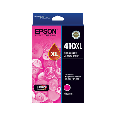 Epson C13T340392 High Capacity Magenta Ink Cartridge (Yields up to 650 pages)