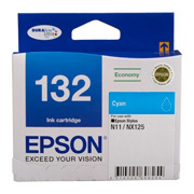 Epson C13T132292 Economy Cyan ink cartridge to suit STYLUS N11, NX125