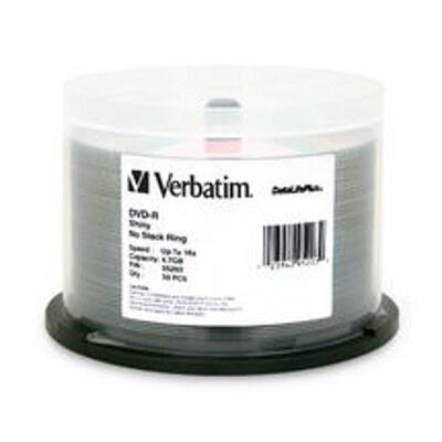 Verbatim 95203 DataLife DVD-R 4.7GB 50Pk Spindle Bulk Silver Shiny 16x