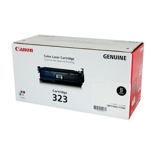 Canon CART323BK Black Cartridge to suit LBP7750CDN