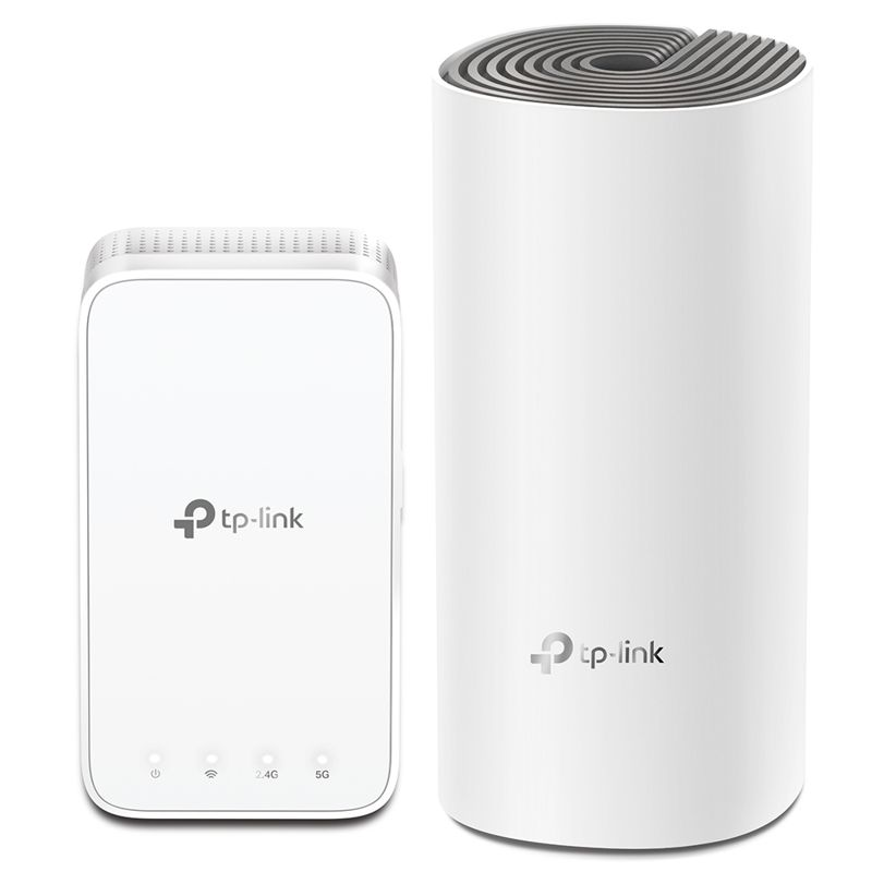 TP-Link Deco E3 (2-pack) AC1200 Whole Home Mesh Wi-Fi System