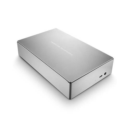 LaCie STFE6000401 6TB Porsche Design USB3.0 and USB-C Desktop Drive (Silver)
