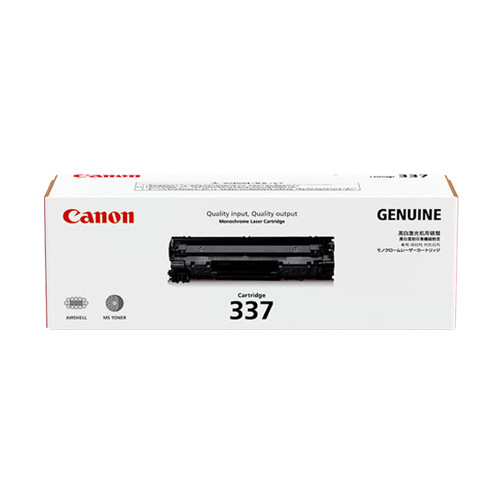 Canon CART337 Toner Cartridge (Yield, 2,100 pages)