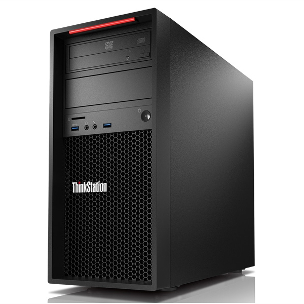 Lenovo P320 Tower, Core i7-7700 3.6/4.2Ghz, 8GB, 256GB SSD, P400-2GB, DVDRW, Win 10 Pro 64, 3 Yr