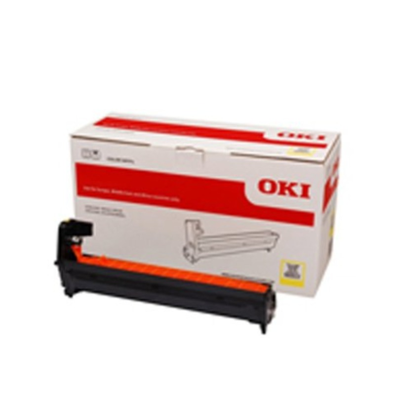 OKI 46507309 Yellow EP Cartridge (Drum) For C612; 30,000 Pages Average