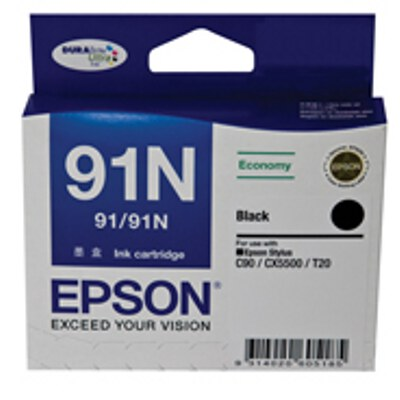 Epson Black Low Cost Cartrdige to suit CX5500, CX90 (Same as C13T091192)