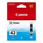 Canon CLI42C Cyan Ink Cartridge to suit PRO100/100S (Yield, 58 pages)