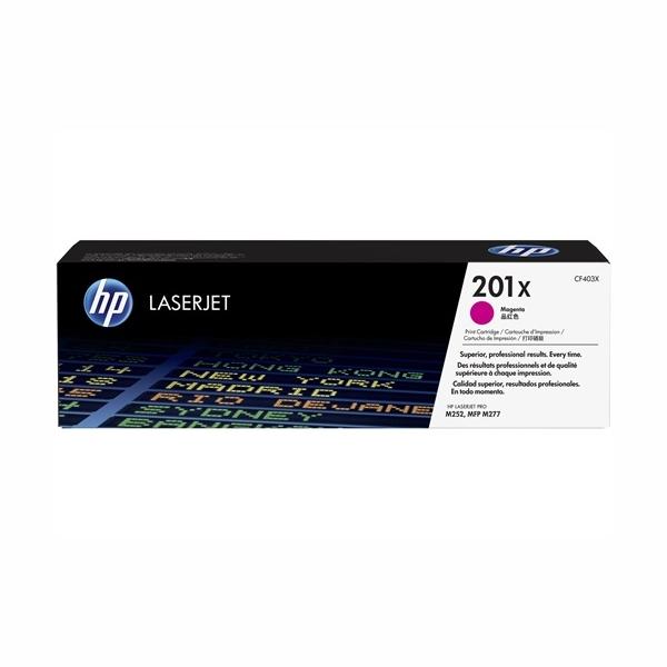 HP CF403X #201X High Yield Magenta Toner Cartridge (2,300 Yield)