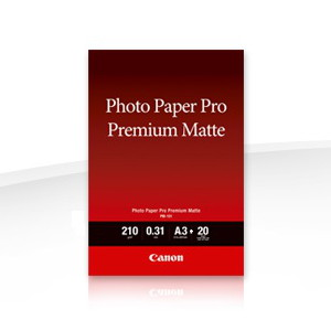 Canon PM101A3+ Photo Paper Pro Premium, Matte, A3+, 210gsm, 20 sheets per pack
