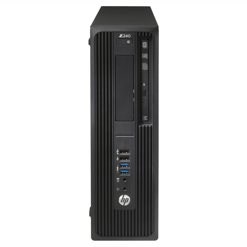 HP Z240 SFF, Core i7-6700 3.4/4.0Ghz, 8GB, 256GB SSD+1TB, P600-2GB, Win 10 Pro 64, 3 Yr