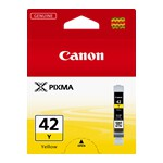 Canon CLI42Y Yellow Ink Cartridge to suit PRO100/100S (Yield, 51 pages)