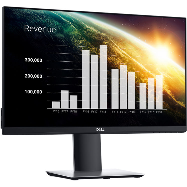 Dell P2319HE 23 Inch FHD IPS, 1920x1080, VGA, HDMI, DP, USB, Height Adjust, VESA, 3 Yr