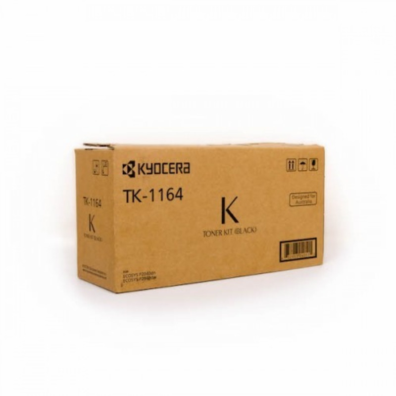 Kyocera TK-1164, Toner Kit to suit P2040DN/DW (7,200 Yield)