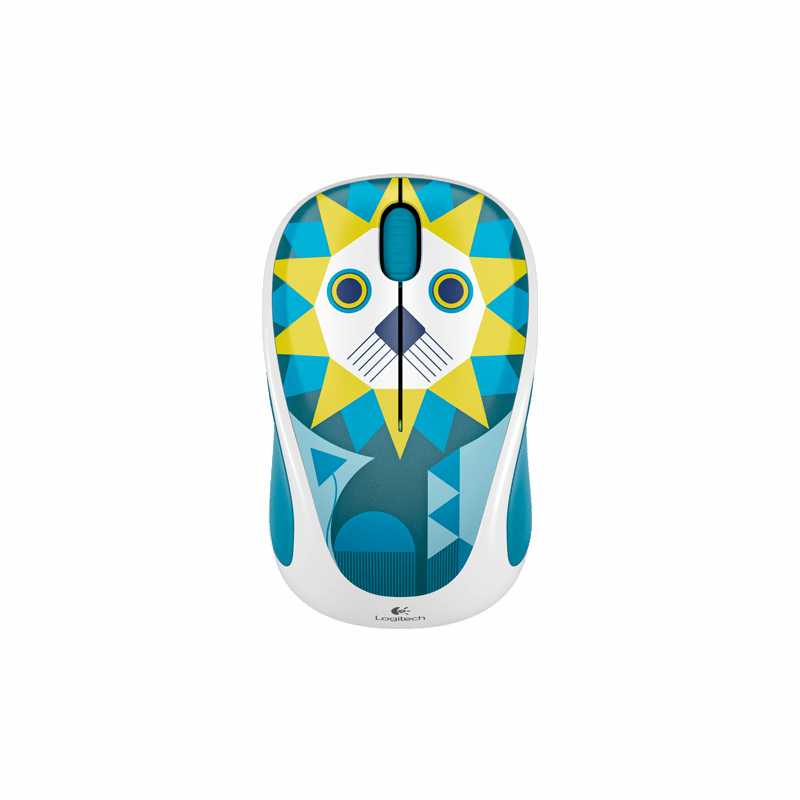 Logitech M238 Wireless Mouse, Luke Lion Design