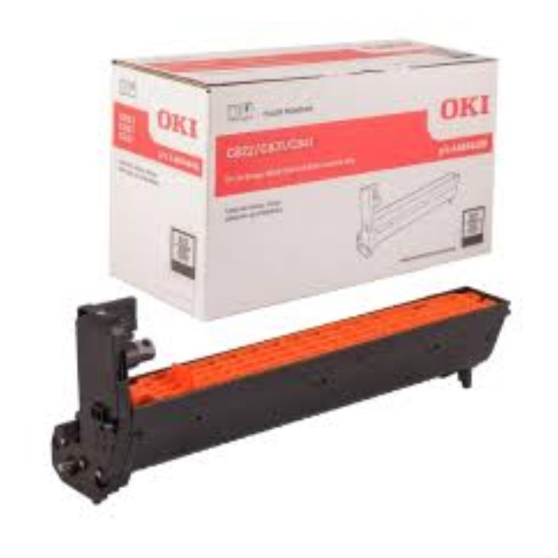 OKI 44844424 EP Cartridge (Drum) For C831N Black (20,000 @ 4 A4 Pages Per Job)