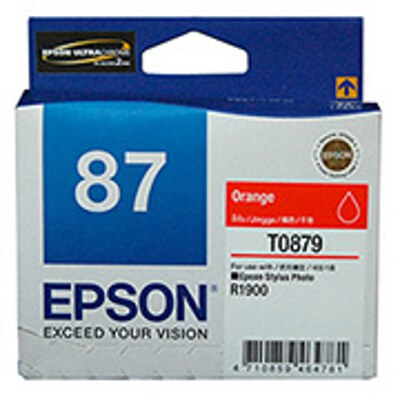 Epson C13T087990 Orange Ink Cartridge
