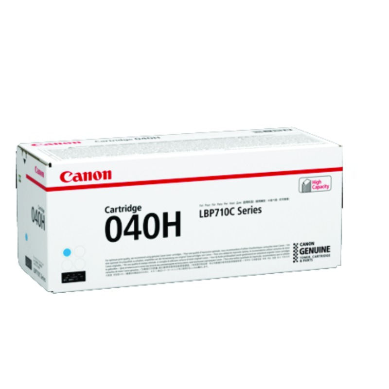 Canon CART040CII, Cyan Toner Cartridge to suit LBP712CX (Yield, up to 10,00 Pages)