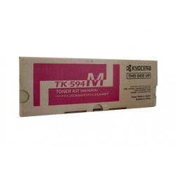 Kyocera TK-594M Magenta Toner for FS-C2126MFP/FS-C2026MFP/M6526CIDN (5,000 Yield)