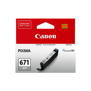 Canon CLI671GY Standard Capacity Grey Ink Tank to suit MG7760